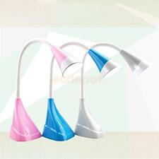 LED Light Table Desk Lamp Touch Sensor Adjustable Brightness USB Charge 3 Colors