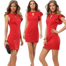 Women's One Shoulder Wiggle/Pencil Cocktail Party Solid Color Dress Office Wear