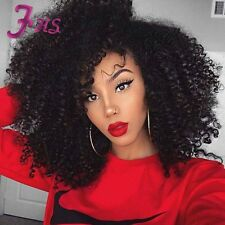 Short Kinky Curly Lace Front Wig Brazilian Curly Full Lace Human Hair Wigs