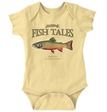 Brook Trout Fish Sporting Goods Gifts Cool Graphic Fishing Romper Bodysuit