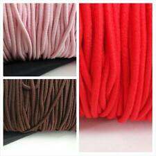 10 yards 3 colors bungee shock sewing and jewelry making elastic cord 2 mm wide.