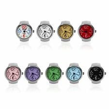 Ring Watch Quartz Finger Watches Rings Gifts Jewelry Steel Ring Watches BE