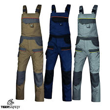 Delta Plus Panoply MCSAL Mach Corporate Bib and Brace Dungarees Overalls BNWT