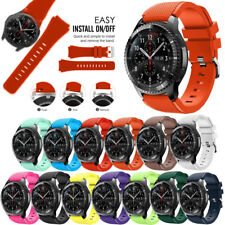 Band Elegantly Stainless / Silicone Active Wrist Strap For Samsung Gear S3 22mm