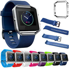 NEW For Fitbit Blaze Durable Sport Mini Wrist Strap Band Case Cover & Frame Case
