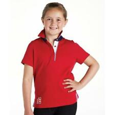 New - Harry Hall Millom Childs Polo Shirt - Poppy Red - Was £21.95