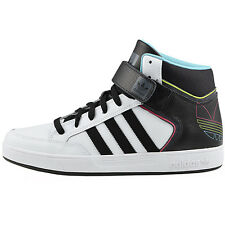 adidas Varial Mid Men's Shoes Sneakers Leather Skate shoes white black new