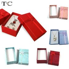 Wholesale 32pcs/lot Necklace Earring Packaging Gift Jewelry Box Ring Box Pendant