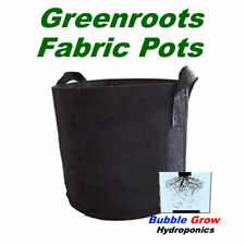 PLANT FABRIC POTS 5 PACK GROW BAGS WITH HANDLES 1,2,3,5,7,10,15,20,25,30 GALLON