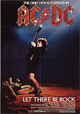 AC/DC - LET THERE BE ROCK - BLU RAY - NEW / SEALED - UK STOCK