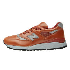NEW Balance 998 Horween Leather MADE IN THE USA Men's Shoes Brown M998BESP New