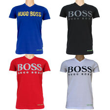 2017 HUGO BOSS Mens T-Shirt V-Neck Short Sleeve 100% Cotton Premium tshirts