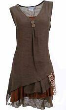 NEW Pretty Angel Clothing Apparel Two Piece Knit Top Tunic In Coffee 69802