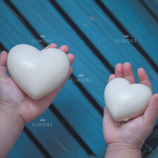 Silicone Soap Mold Craft Heart Flexible Soap Making Mould DIY Candle Resin Mold