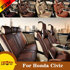 Comfort Ice Silk Car Seat Cover Best For Honda Civic Seat Protect Pad Headrest