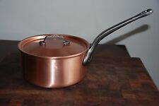 Falk 20cm Saucepan with Lid Classical Line Copper Cookware - INO2517SF