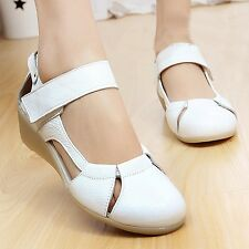 New Womens Professional Nurse Hospital Work Wear-resistant Working Shoes Sandals