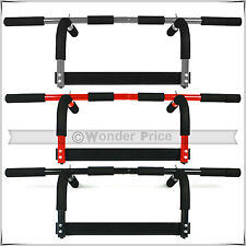 GYM FITNESS BAR CHIN UP PULL UP STRENGTH SIT UP DIPS EXERCISE WORKOUT DOOR BARS
