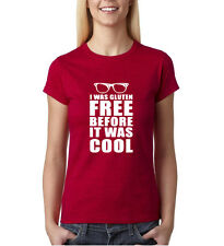 I was gluten free before it was cool White Womens T Shirt All sizes colors