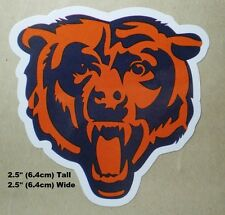 Chicago Bears NFL Decal Stickers Football Team Logo -  Your Choice