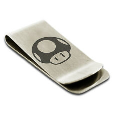 Stainless Steel Toad Symbol Money Clip Credit Card Holder