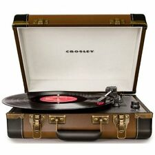Turntable Portable  Record Player Stereo Speaker Retro Music