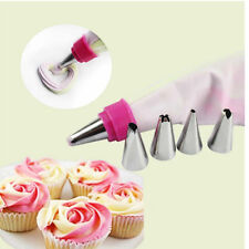 Icing Piping Nozzles Tips Pastry Bag Cake Cupcake Sugarcraft Decorating Tool TO