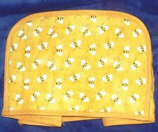 Quilted Toaster Cover Bees Made to order SEND YOUR MEASUREMENTS!!