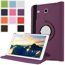 Luxury 360° Rotating Leather Cover Case For Samsung Galaxy Tab E 8.0 / Tab E 9.6