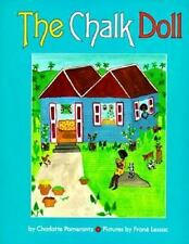 THE CHALK DOLL Pomerantz  Jamaica Picture Book Hardcover with Dust Jacket