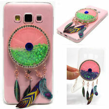 3D New Wind Chimes Quicksand Liquid Rubber Soft TPU Case Cover For Various phone