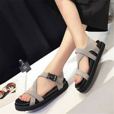 Womens Summer casual Sandals Shoes Flip Flop Thick bottom Muffled Slippers New