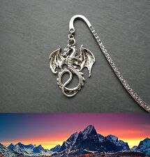 Lord of the Rings Dragon Smaug Silver Bookmark Middle-earth Ringer Gift