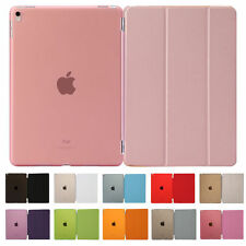 Smart Magnetic Stand Cover, Hard Back Case for Apple new iPad Sleep Wake Flip