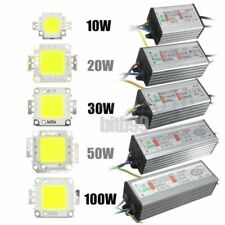 10W/20W/30W/50W/100W High Power Waterproof LED SMD Chip Bulb+LED Driver SupplyBE