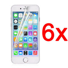 6x Front Ultra Clear Screen Protector Cover Film For iPhone 7 6 6s Plus 5S 4 4S