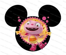 Disney Huggle Monsters personalized iron on transfer (choice of 1)