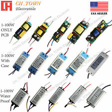 High Power Supply 3W 10W 20W 30W 50W 100W Waterproof Constant Current LED Driver
