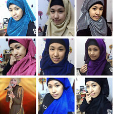 Lady Long Hijab Scarf Muslim Headscarf Islamic Women Wrap Shawls Amira Hijab