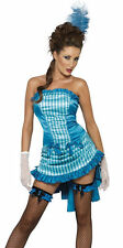 Can Can Burlesque Dancer Lady Elegance Costume