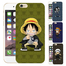One Piece Funny Animation Print Phone Case Cover For iPhone&Samsung S4/5/6/N3/4