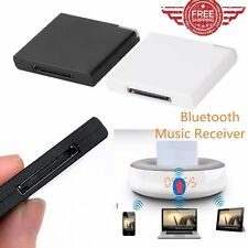 Bluetooth A2DP Music Receiver Adapter for iPod iPhone 30-Pin Dock Speaker Pro BE