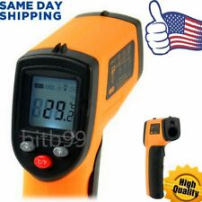 HH Non-Contact LCD IR Laser Infrared Digital Temperature Thermometer Gun @B