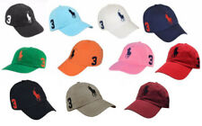 Polo Ralph Lauren Mens Chino Adjustable Ball Cap Hat Big Pony VARIETY COLORS