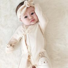 "Organic Baby Clothing,Baby"" Bunny"" Romper,Baby Bodysuit,One-Piece,Newborn Romper"