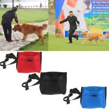 Portable Pet Dog Obedient Training Treat Pouch Bait Food Bag with Clip & Strap