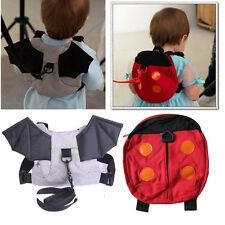 Cute Ladybug Baby Toddler Safety Harness Backpack Strap Walker Backpack new