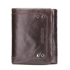 Men / Women 3 Color Casual Wallets With Coin Bags Design Purse
