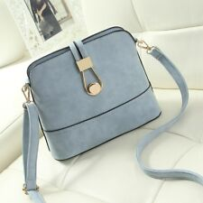 Women Leather Casual Purse Crossbody Shoulder Shell Small Messenger Handbag