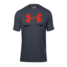UA Under Armour CC Sportstyle Charged Cotton men's T-Shirt Grey New 1257615-016